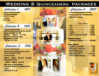 Wedding & Quinceanera Packages